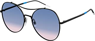 Tommy Hilfiger Aviator Sunglasses for Women - Blue