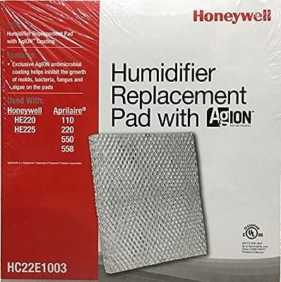 Honeywell HC22E1003/U Pad with Ag Ion Coating for He100, He150, He220 and He225 Humidifiers