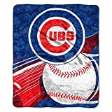MLB Chicago Cubs 'Big Stick' Raschel Throw Blanket, 50' x 60'