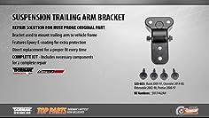 MTC 8796//52385-SR3-000 Trailing Arm Bushing Rear-Suspension 52385-SR3-000 MTC 8796