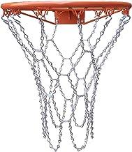 Basket Ball Net Red De Baloncesto De Acero Galvanizado Cadena Baloncesto Para Interior Y Exterior Red De Reemplazo De Red De Canasta Para Entrenamiento Deportivo Al Aire Libre Longitud 55 Cm