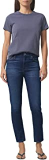 Citizens of Humanity Harlow Ankle Mid Rise Slim Fit Jeans - Women's Designer Denim - Made in The USA