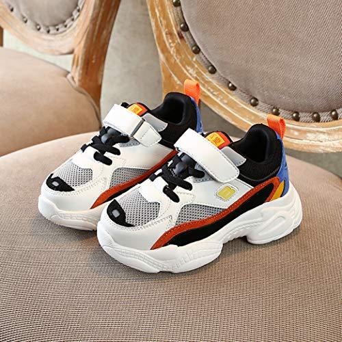 Kinder Sneakers frühling und Herbst bequem Leder mesh lässige Schuhe Low top dicken Boden Student Schuhe leichte Laufschuhe Baby Kleinkind Schuhe
