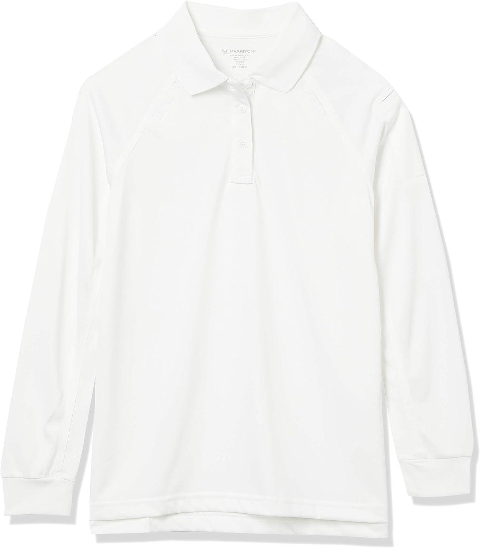世界の人気ブランド Harritton Women's Tactical Performance 激安特価品 Shirt Polo Long Sleeve