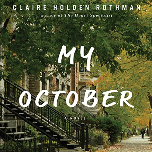 My October audiobook cover art