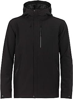 Icebreaker Merino Men's Stratus Transcend Hooded Jacket Down Alternative Outerwear Coats, Medium, Black