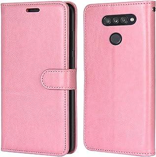 Laybomo Carcasa para LG K50S Tapa Funda Cuero Estilo-Sencillo Monederos Billetera Bolsa Magnética Protector Silicona Suave...