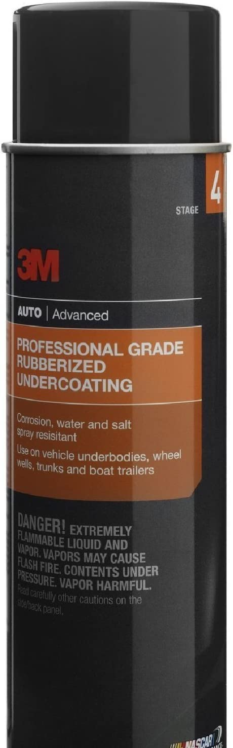 Branded goods 3M 3584 Professional Grade Rubberized Undercoating outlet 10 Cans 16oz