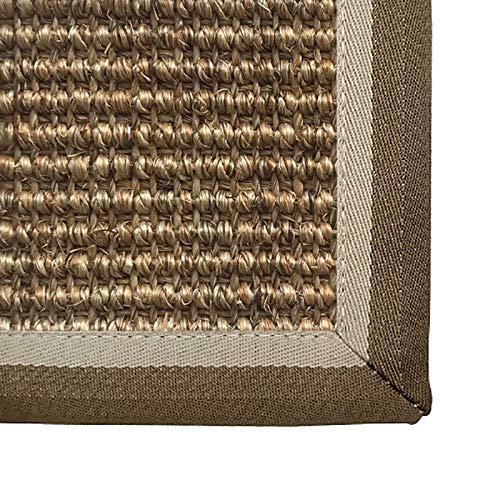 WHAOYEROK Alfombra Seagrass Trenzado Antideslizante Fácil de Limpiar colchón de Tatami para Entrada Oficina Interior Entrada Estera Japonesa, Personalizable (Color : C, Size : 100x150cm)