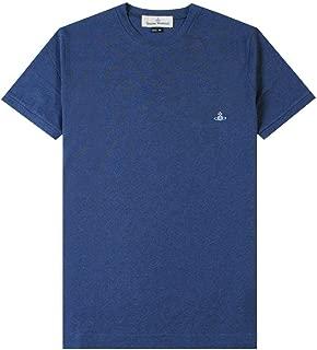 Vivienne Westwood Basic Logo Tee T Shirt in Green Melange