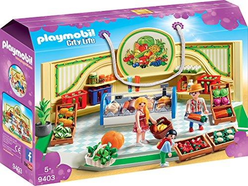 PLAYMOBIL City Life 9403 Bioladen, Ab 5 Jahren