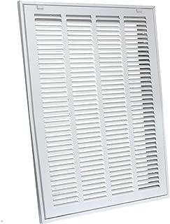 EZ-FLO 61657 Steel Sidewall and Ceiling Return Air Filter Grille, 10