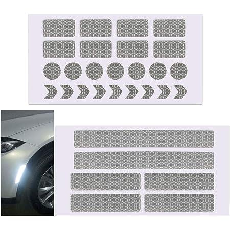 3m Warnung Reflektierende Sicherheitsklebeband Aufkleber Für Lkw Auto Weiß Baumarkt