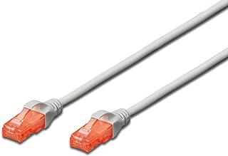 DIGITUS LAN kabel Cat 5e - 10m - CCA netwerkkabel met RJ45 - SF/UTP afgeschermd - Compatibel met Cat-6 & Cat-5 - Groen
