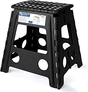 Acko 16 Inches Super Strong Folding Step Stool for Adults, Kitchen Stepping Stools,..
