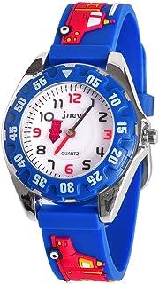 ساعة دودوسكي للأطفال، ساعة كرتون ثلاثية الأبعاد مضادة للماء للبنات والأولاد من سن 3-8 - هدايا للأولاد والبنات