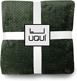 U UQUI Summer Throw Blanket Lightweight Fuzzy Blankets All Season for Couch Sofa Bed Full Twin Size 66 X 90 Inches