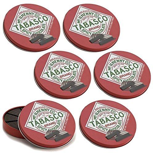 【デリカフローラ】 タバスコ スパイシー ダークチョコレート 6個セット クール便