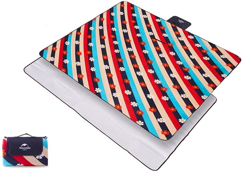 QXWL QXWL QXWL 200 x 200 cm faltbare Strandmatte Picknickdecke wasserdicht Sandproof Outdoor Picknick Teppich Matte mit Griff für Camping, Familienausflug (Farbe   C-200200CM) B07DLX33G1  Viele Sorten 78f2dd
