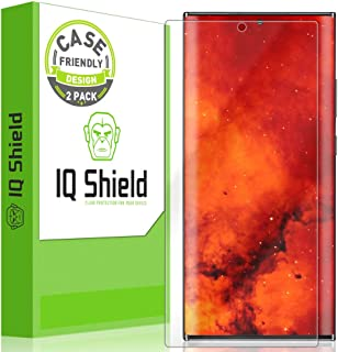 IQ Shield Screen Protector Compatible with Samsung Galaxy Note 20 Ultra (6.9 inch)(2-Pack)(Case Friendly) Anti-Bubble Clea...