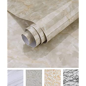 Marble Self Adhesive Wallpaper Peel and Stick Film Removable Contact Paper Green