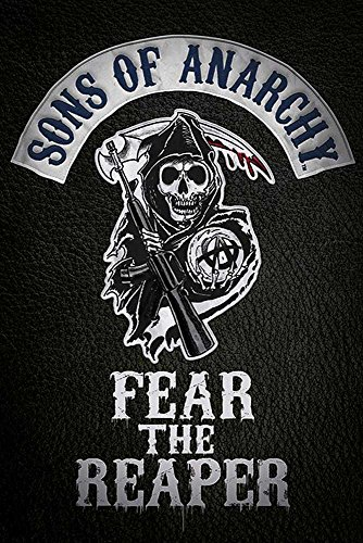 Sons of Anarchy - Fear The Reaper - Drama Tv Serie Poster Plakat Druck - Größe 61x91,5 cm