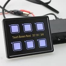 iztor Boat 8 Gang Rocker Circuit Breaker Switch Panel with LED Indicator