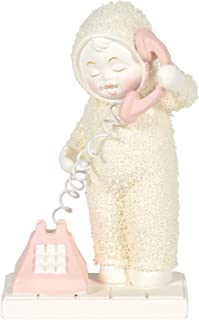 Department 56 Snowbabies Classics Calling to Say I Love You Figurine, 4.5 Inch, Multicolor