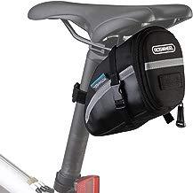 Roswheel Bolsa de sillín de bici bicicleta 15x8x9cm para bicicletas de montaña de carrera teléfonos negro