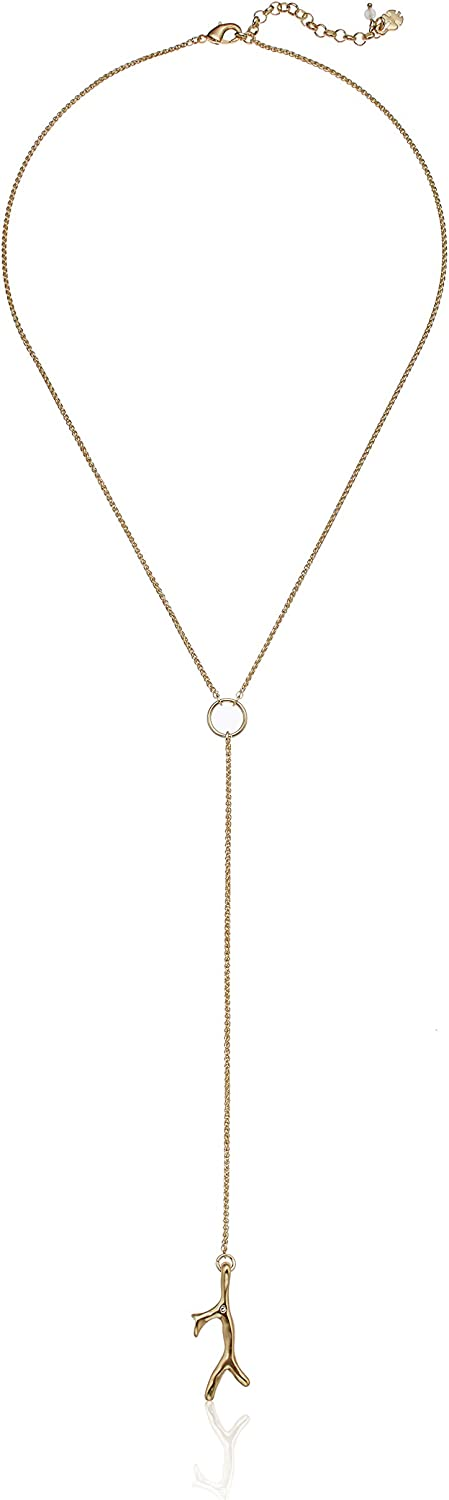 Lucky Brand Coral Y-Necklace