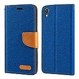 Asus Zenfone Live L1 ZA550KL Case, Oxford Leather Wallet