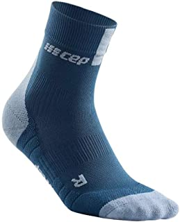Men's Athletic Crew Cut Compression Socks - CEP Short Socks for Performance