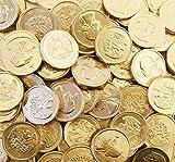 RiverFinn Gourmet Milk Chocolate Gold Coins - Bulk Wholesale (2...