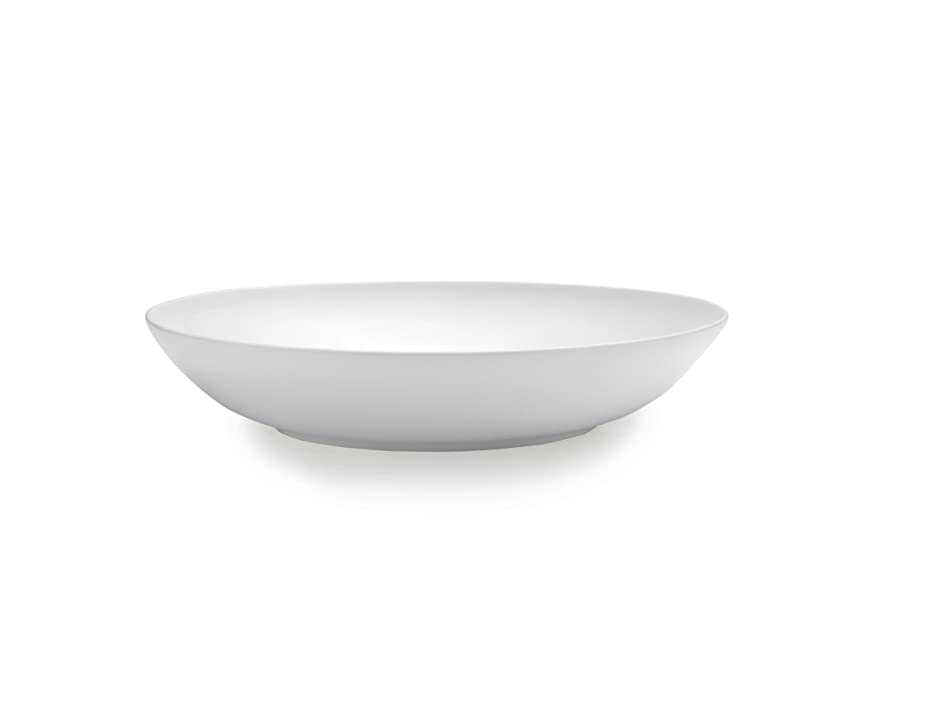 Mikasa Delray Bone China Round Pasta Serving Bowl, 13-Inch