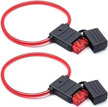 AUTUT 2Pcs Automotive Inline Blade Fuse Holder 50amp