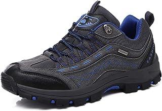 Zapatillas de Trekking para Hombres Zapatillas de Senderismo Botas de Montaña Impermeable Antideslizantes AL Aire Libre Deportes Escalada