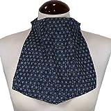 Pañuelo de Traqueotomia Seda Estampado Mosaico Neg-Unidad