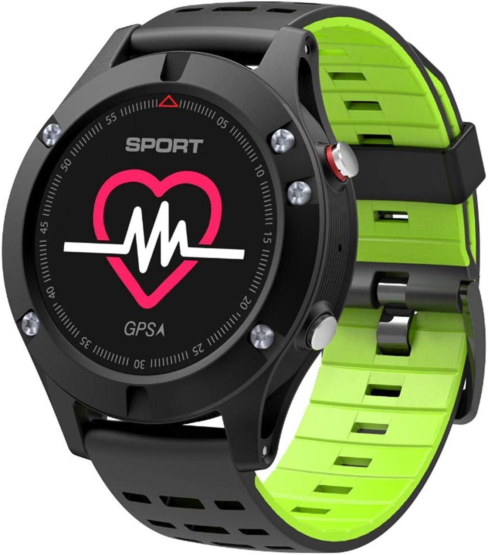 FFHJHJ Intelligente Uhr Smartwatch Pulsmesser GPS Multi Sport Modus OLED Hhenmesser Blautooth Fitness Tracker IP67 Smart Watch