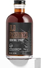 Strongwater Old Fashioned Cocktail Syrup (Makes 32 Cocktails) Non-Alcoholic Drink Mixer - Handcrafted with Bitters & Organ...