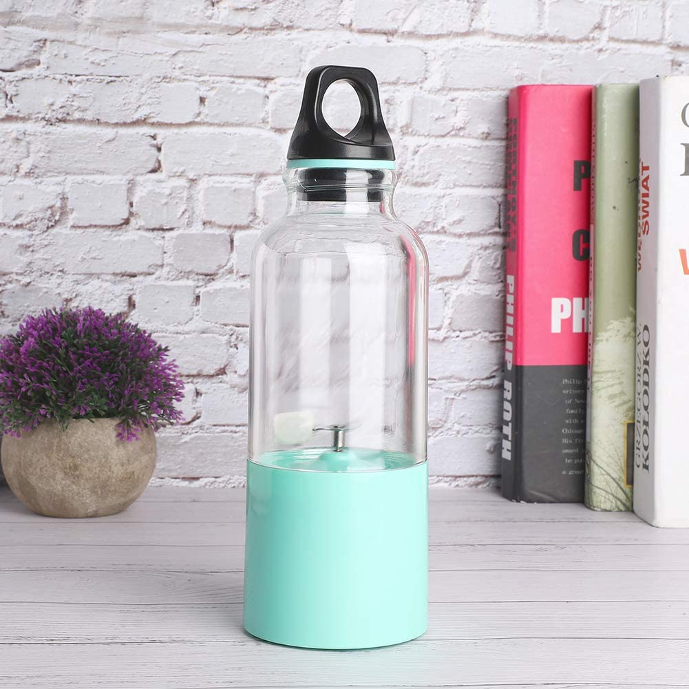 Taza de jugo eléctrico, portátil ligero y delicado para exprimidor recargable USB de viaje a casa(#1) #2