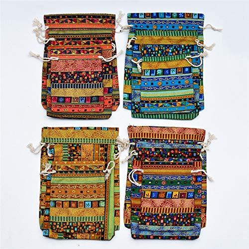 20pcs egipcios étnicas Estilo de los bolsos de lazo del regalo, joyería...
