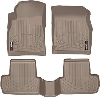WeatherTech Custom Fit FloorLiner for Buick Verano - 1st & 2nd Row (Tan)
