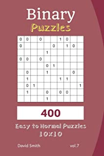 Binary Puzzles - 400 Easy to Normal Puzzles 10x10 vol.7