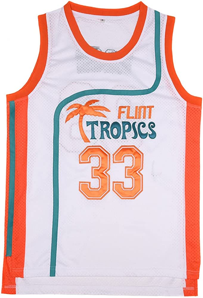BOROLIN Youth Basketball Jersey Albuquerque Mall #33 Flint 90 Moon Tropics Manufacturer direct delivery Jackie
