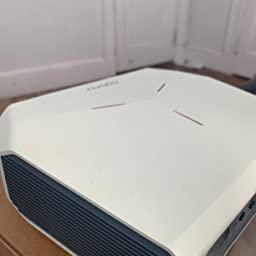 funci/ón de Zoom y conexi/ón de tel/éfono Inteligente Proyector admite TV Stick//PC//Reproductor de DVD//PS4 COOAU Proyectores de pel/ículas para Exteriores de 5500 l/úmenes admite reproducci/ón de 1080P