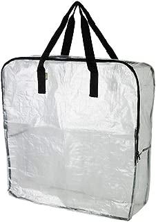 IKEA - DIMPA Storage bag, clear (FBA)