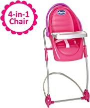 Baby Doll High Chair & Swing Gift Set, 4-in-1 Chair for Baby Dolls, For Up To 18-Inch Baby Dolls, Transforms Into Baby Doll High Chair, Baby Doll Swing, Baby Doll Feeding Seat or Car Seat!