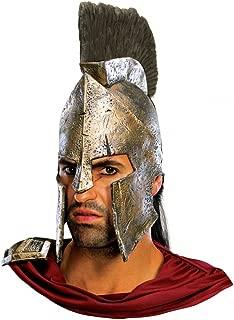 King Leonidas 300 Spartan Helmet Movie Roman Gladiator Warrior Adult Costume
