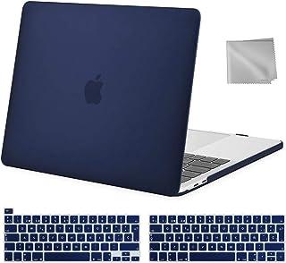 MOSISO Funda Dura Compatible con 2020-2016 MacBook Pro 13 A2338 M1 A2251 A2289 A2159 A1989 A1706 A1708, Carcasa Rígido & 1...