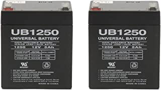 Universal Power Group 12V 5Ah Replacement for Chamberlain 41A6357-1 Garage Door 4228-2 Pack